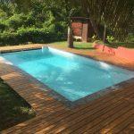Transformation intérieure du bassin d'une piscine